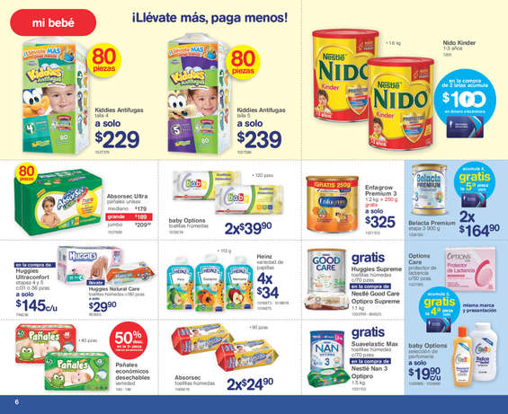 Ofertas de Farmacias Benavides, Promociones marzo