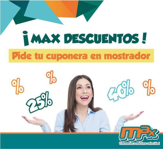 Ofertas de Tintorerías Max, Max Descuentos