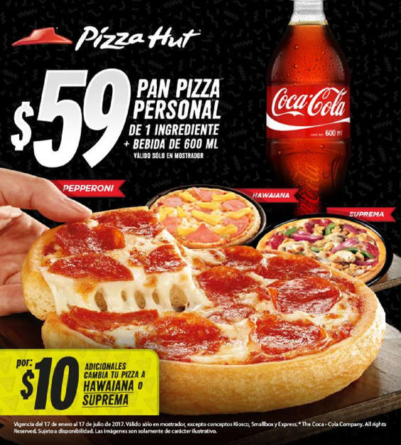 Pizza hut ofertas cat logos y folletos ofertia for Oficinas de pizza hut
