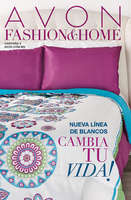 Ofertas de Avon, Campaña 8 Fashion & Home
