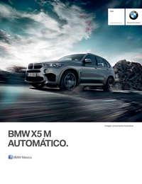 Ficha Técnica BMW X5 M Automático 2017