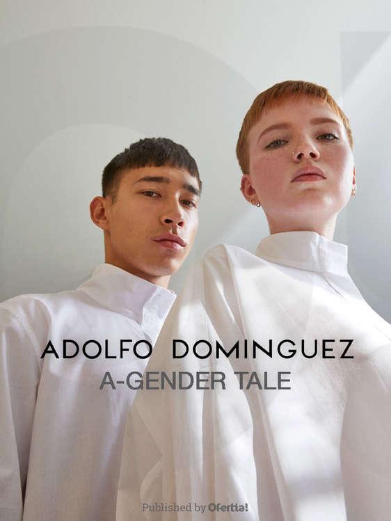 Ofertas de Adolfo Dominguez, A-Gender Tale