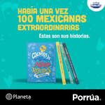 Ofertas de Librería Porrúa, Cuentos de buenas noches para niñas rebeldes. 100 mexicanas extraordinarias