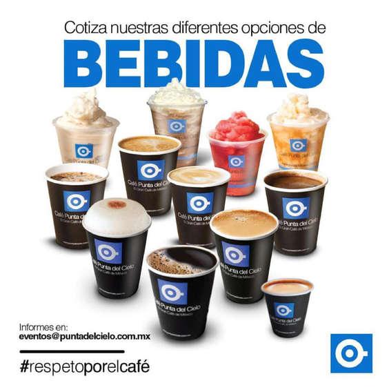 Ofertas de Café Punta del Cielo, Vamos a tu evento