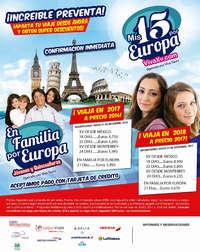 Mis 15 por Europa