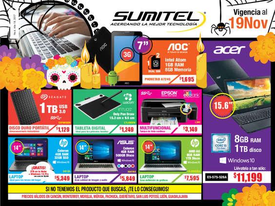 Ofertas de Sumitel, Catálogo Tecnología