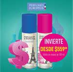 Ofertas de Perfumes Europeos, Invierte desde $559.00