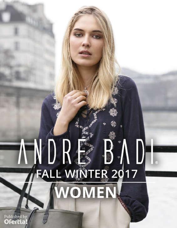 Ofertas de André Badi, Fall Winter Women