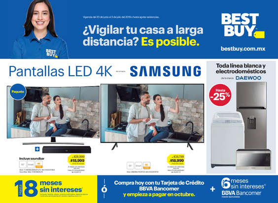 Ofertas de Best Buy, ¿Vigilar tu casa a larga distancia? Es Posible