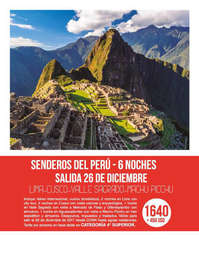 Senderos del Perú