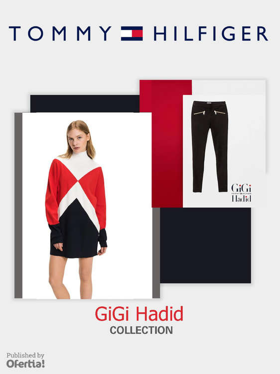 Ofertas de Tommy Hilfiger, Gigi Hadid