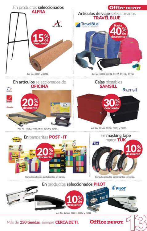 Ofertas de Office Depot, Folleto Junio Office Depot