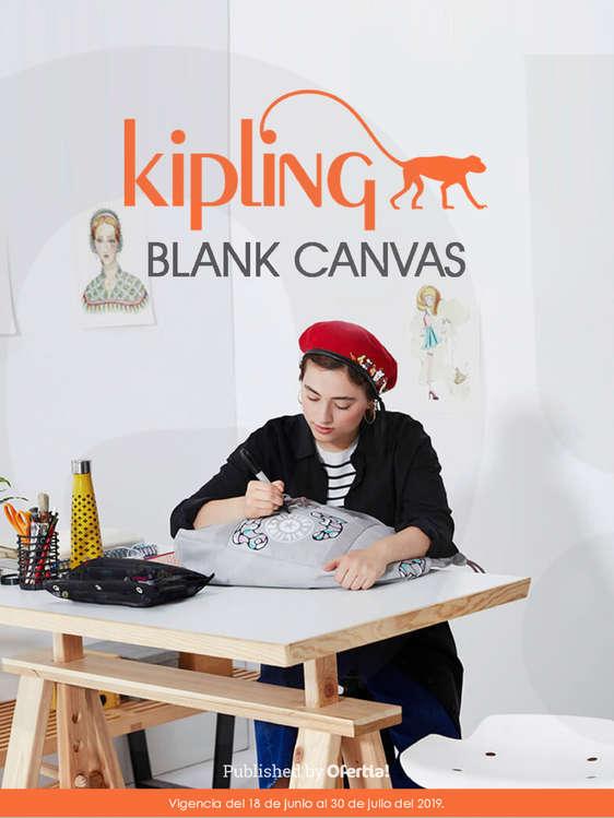 Ofertas de Kipling, Blank Canvas