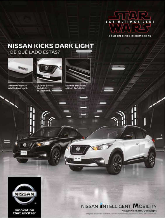 Ofertas de Nissan, Nissan Kicks Dark Light