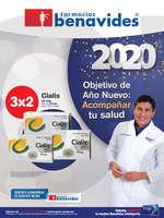 Ofertas de Farmacias Benavides, 2020 objetivo de año nuevo: acompañar tu salud - WEB