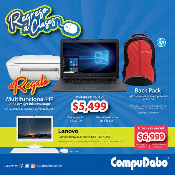 Ofertas de CompuDabo, Compudabo agosto