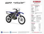 Ofertas de Yamaha, WR 450F