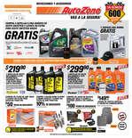Ofertas de AutoZone, Folleto Septiembre