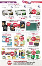 Folleto Octubre Office Depot