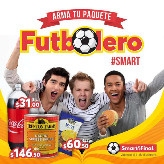 Ofertas de Smart & Final, Arma tu paquete futbolero