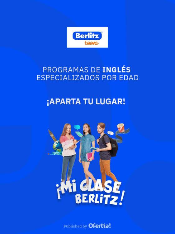 Ofertas de Berlitz, Mi clase Berlitz - TEENS
