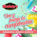 Ofertas de Shakey's Pizza, Festeja tu cumpleaños