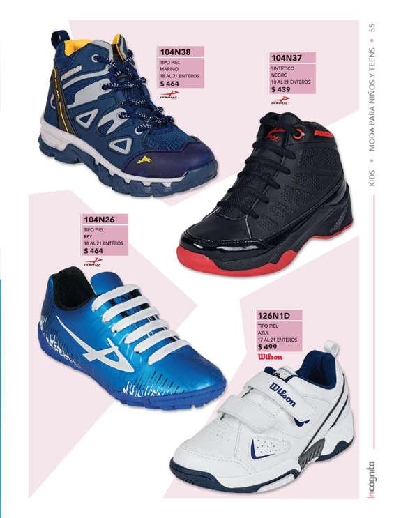 Ofertas de Incógnita, Catálogo Incógnita Calzado Kids Otoño Invierno 2019