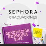 Ofertas de Sephora, Graduaciones