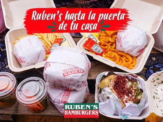 Ofertas de Ruben's Hamburgers, Hasta la puerta de tu casa