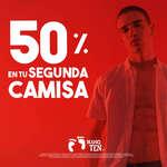 Ofertas de Hang Ten, 50% en tu segunda camisa
