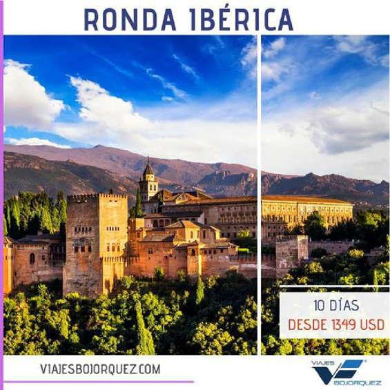 Ofertas de Viajes Bojorquez, Ronda Ibérica