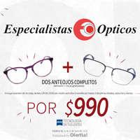 Promoción de anteojos