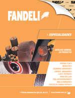 Ofertas de Fandeli, Catálogo Especialidades
