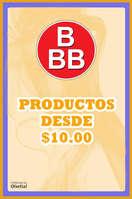 Ofertas de Tiendas Tres B, Productos desde 10 pesos