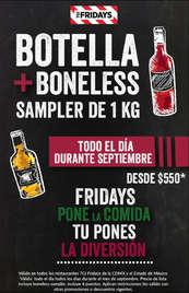 Septiembre Botella + Boneless