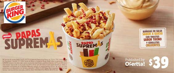 Ofertas de Burger King, Papas supremas