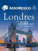 Ofertas de Aeromexico, Londres desde $899 USD