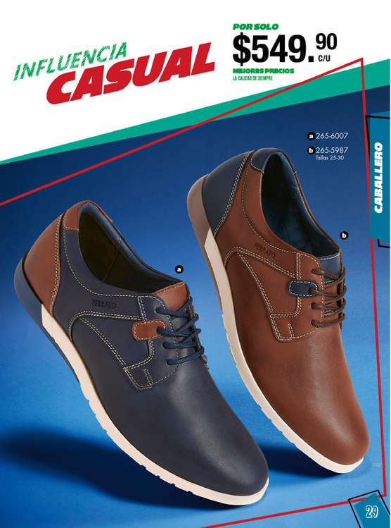 3f340d04 Zapatos piel hombre en Tula de Allende - Catálogos, ofertas y ...