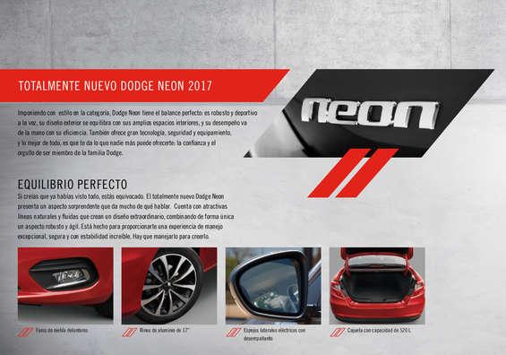 Ofertas de Dodge, NEON 2017