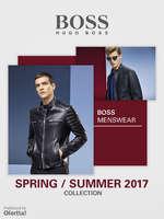 Ofertas de Hugo Boss, Boss Menswear Spring Summer 2017