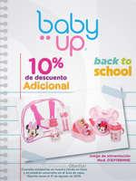 Ofertas de Baby Up, 10% de descuento adicional