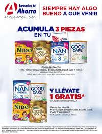 Plan de lealtad / Fórmulas Nestle