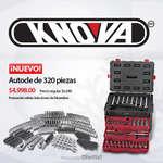 Ofertas de Knova, Nuevo autocle de 320 piezas