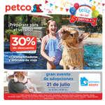 Ofertas de Petco, Folleto Julio Feliz día del perro