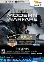 Ofertas de Game Planet, COD Modern Warfare