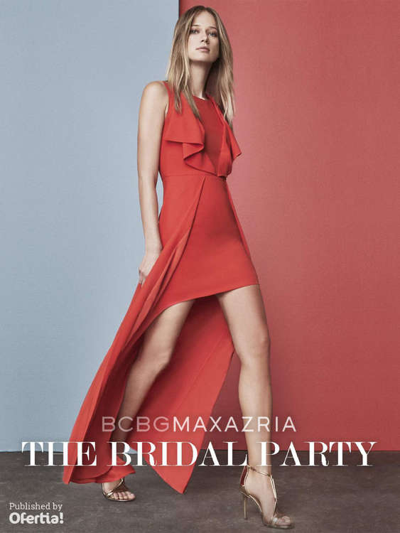 Ofertas de BCBGMAXAZRIA, The Bridal Party