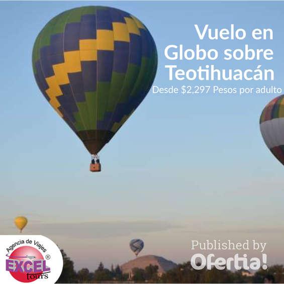 Ofertas de Excel Tours, Vuelo en globo