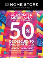 Ofertas de The Home Store, Gran venta mexicana