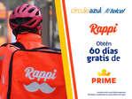 Ofertas de Telcel, Rappi gratis por 60 días