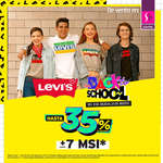 Ofertas de Suburbia, Levi's Back to school